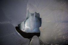 Grotte de glace, les 2 alpes,